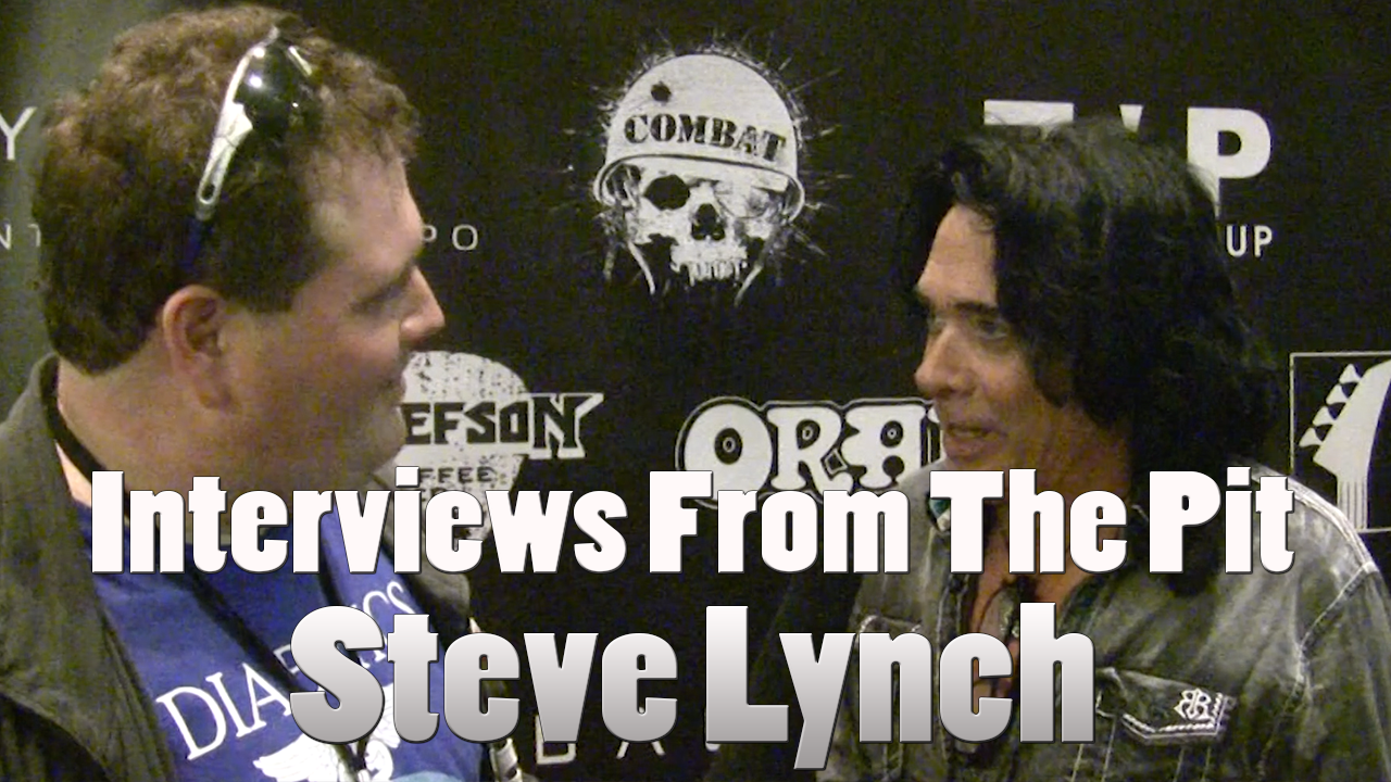 Interviews from the pit: Steve Lynch (Autograph)