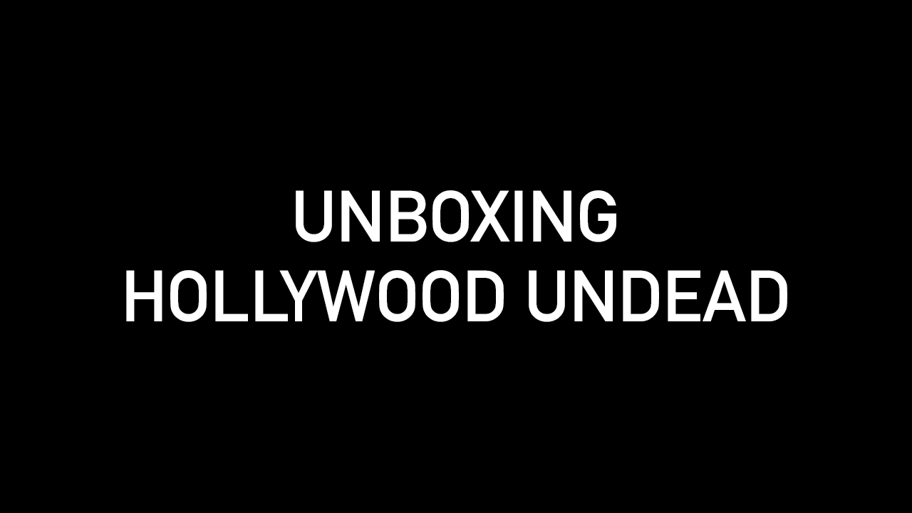 Unboxing Hollywood Undead
