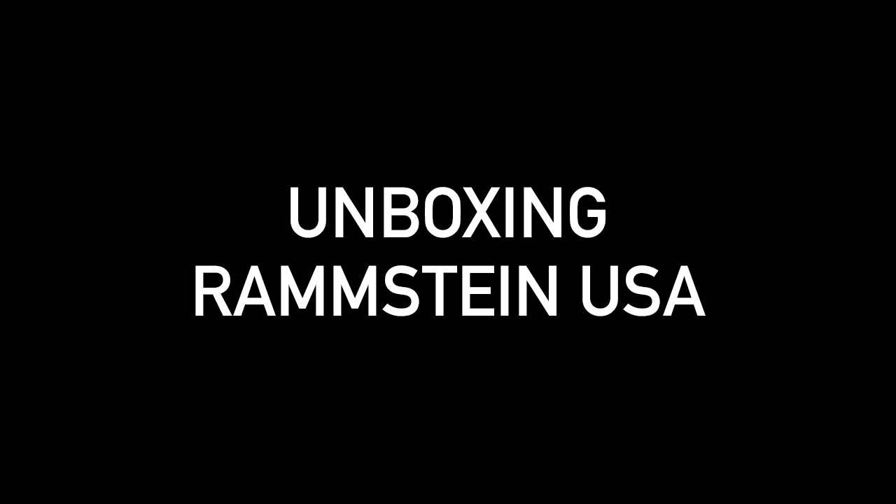 Unboxing Rammstein USA