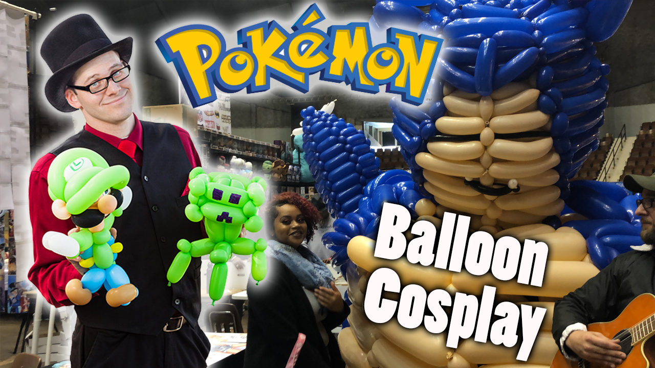 Snorlax Balloon Cosplay.