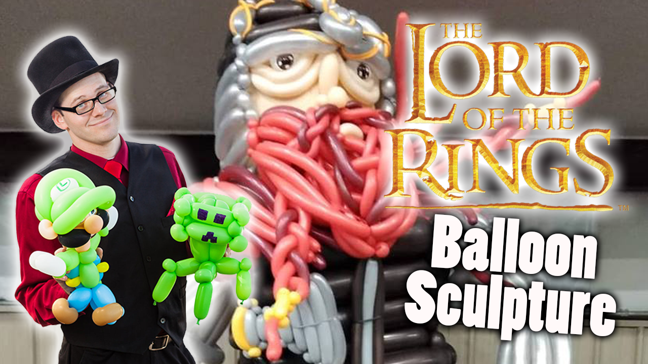 Gimli Balloon sculpture
