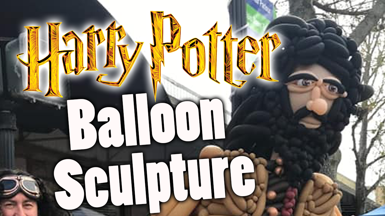 Hagrid Balloon Sculpture