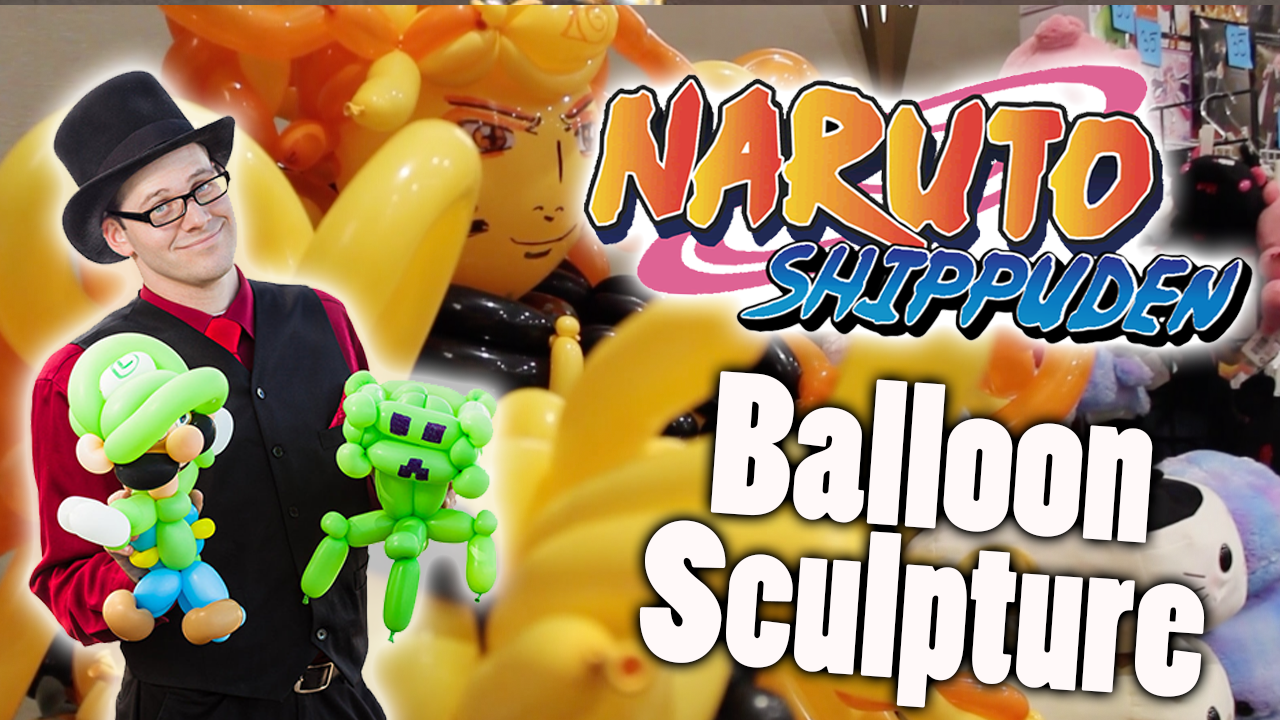 Naruto (Kurama Mode) Balloon Sculpture Balloon Sculpture