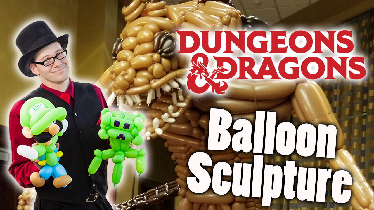 Tarrasque Balloon Sculpture